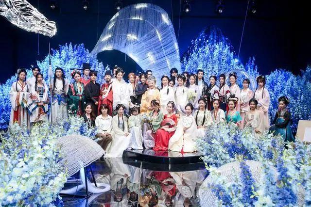 汉服风席卷杭州 山海奇闻代言人选拔大赛及新品发布会成功举办